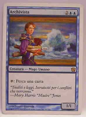 MTG Magic Carta Rara 9th Nona Edizione ITALIANO o INGLESE ARCHIVISTA