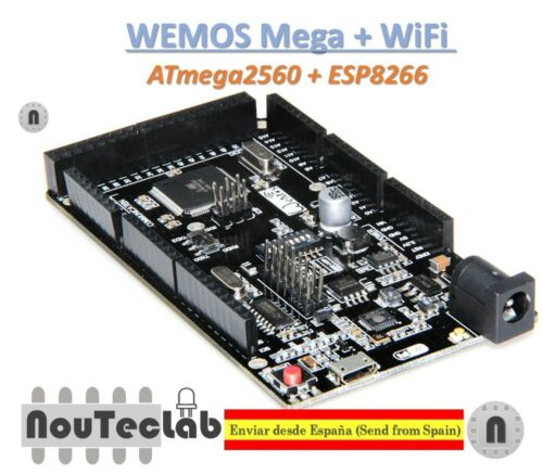 WeMOS Mega ESP8266 USB-TTL for Arduino Mega NodeMCU WiFi R3 ATmega2560