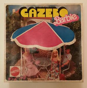 Gazebo-BARBIE-Vintage-Anni-70-Veranda-Giardino-Pavillon-Mattel-num-8158-RARO