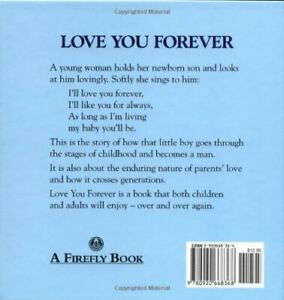 Love-You-Forever-by-Robert-N-Munsch-English-Hardcover-Book-Free-Shipping