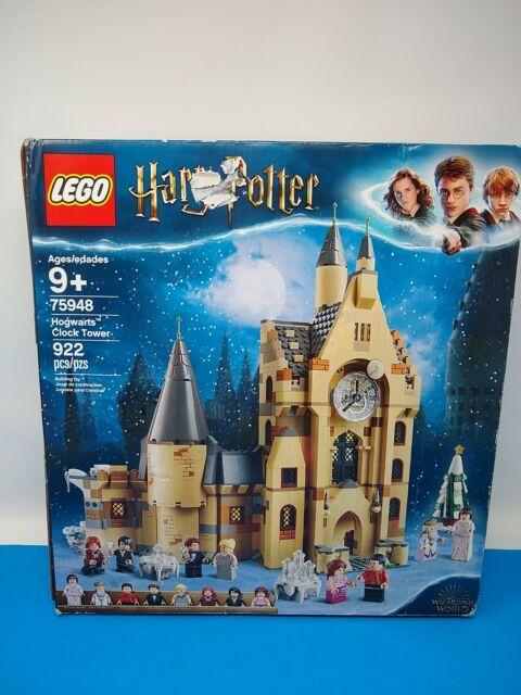 LEGO Harry Potter Hogwarts Clock Tower Set 75948 Open Box Sealed Bags Inside