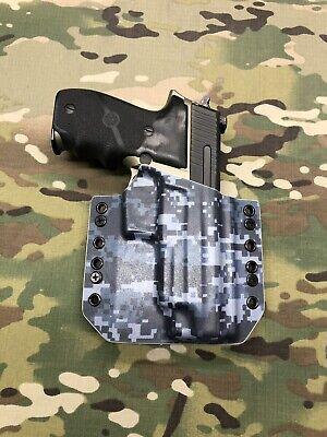 Navy Digital Kydex Holster for Sig Sauer P226R