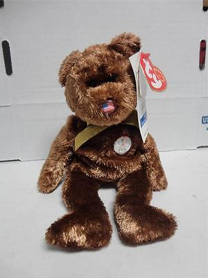 "Ty /""Champion/"" Beanie Buddy+/""Champion/"" Beanie Baby 2002 FIFA World Cup Bears MWMT"