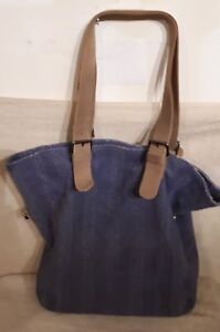 ESPRIT-Damen-Tasche-GROss-Hand-Bag-Schultertasche-Tasche-Blau-Shopper-Ladies-Neu