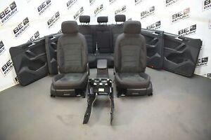 VW-Tiguan-2-II-AD1-Innenausstattung-Sitze-Alcantara-Stoff-schwarz-VERKLEIDUNG