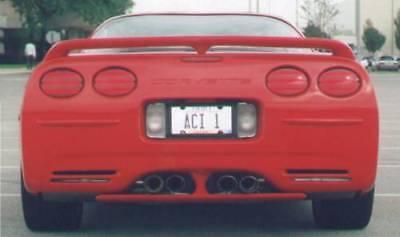 380P Rear trunk duckbill spoiler Fits: Chevy Corvette 1997-04 C5 all models