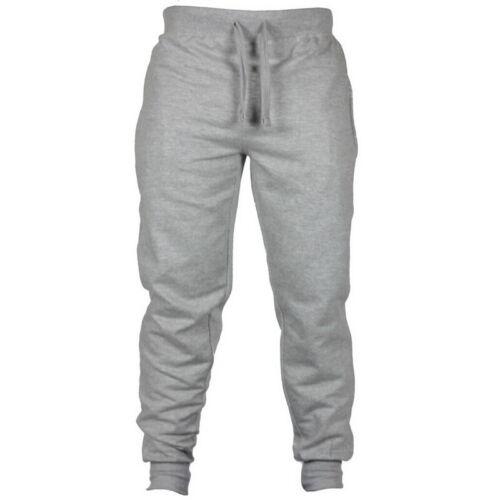 Mens Cotton Elastic Waist Haren Pants Casual Sweatpants Streetwear Trousers UK