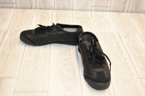 de en cuir noir Tiger Chaussures 6 pointure 5 course 66 Onitsuka Mexico 889436431974 BYqwITI