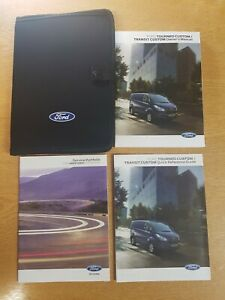 FORD TOURNEO CUSTOM /TRANSIT CUSTOM 2012-2017 HANDBOOK  MANUAL SERVICE BOOK
