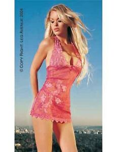 Leg-Avenue-Pink-Halter-Lace-Dress