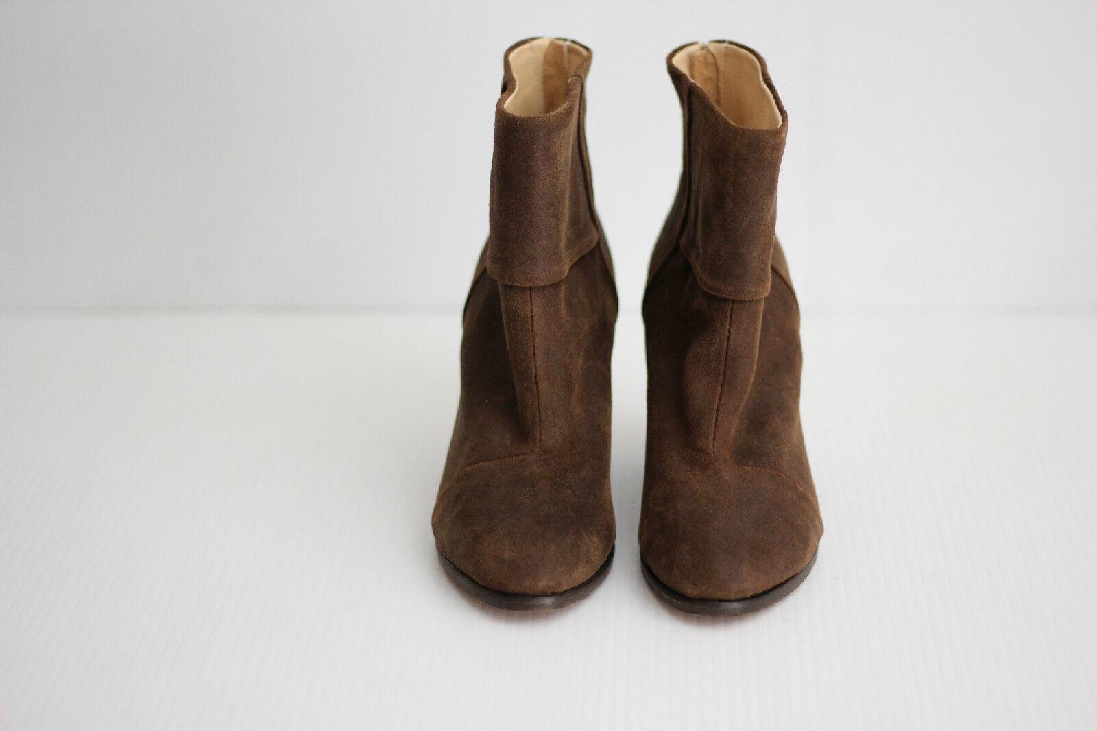 NEW Rag & Bone 'Newbury' Bootie - - - Brown Wax Suede - Size 36.5   6.5US  (S11) 32e25f