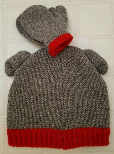 NWT Carter/'s Infant Baby BOY GIRL Unisex 0-9 MONTHS Hat /& Mitten Set DOG #193516