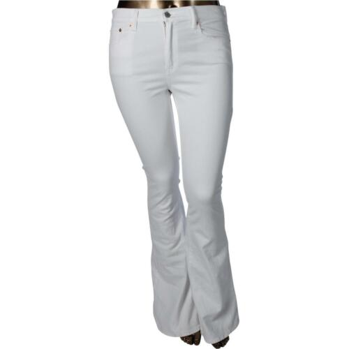 30 Strare Lauren Stretch 165 Womens Polo Taille Denim White Jeans Flare Ralph AT61ZX