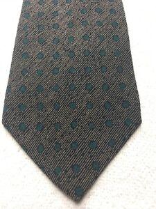 Alfani Herren Krawatte Braun Mit Grün 3.75 X 60 Modische Und Attraktive Pakete