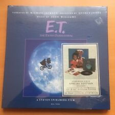 Michael Jackson/John Williams E.T. Limited Edition LP Poster Book, SEALED!