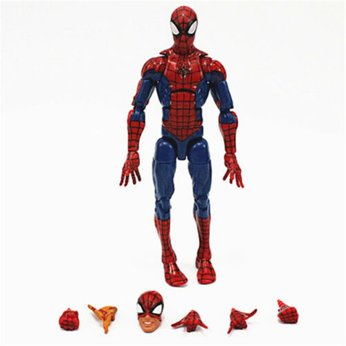 Marvel Legends Infinite Series Toyel Spiderman Super Hero Action Figure Model