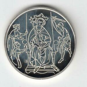 1995-Biblical-Art-034-Solomon-039-s-Judgment-034-2-NIS-PROOF-Coin-28-8g-Silver-Off-Quality