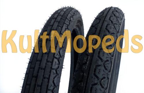Reifen MZ Etz125 Etz150 Etz250 Heidenau vorn K39 2,75x18 K36 hinten 3,25x16