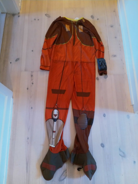 Udklædningstøj, Rebel Pilot, Star Wars, Rebel Pilot, Star…
