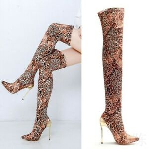 Women Pointed Toe Thigh High Over the