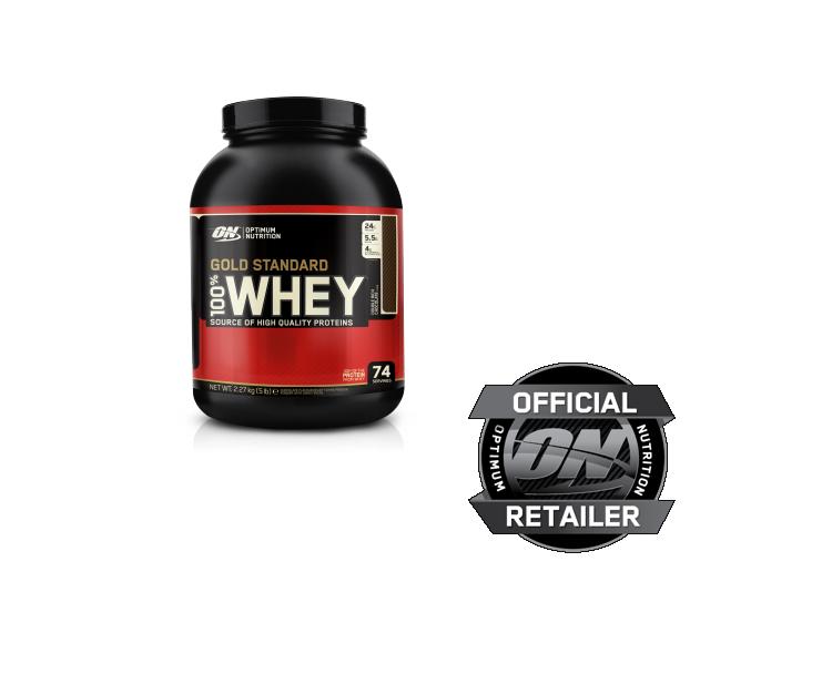 ( /kg) Optimum Nutrition 100% Whey Gold Standard Protein 2,27kg ALLE SORTEN