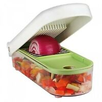Vidalia Chop Wizard, Chopping Dicing Vegetables Fruit Cheese With Container,