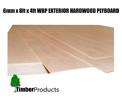 6mm x 2440mm x 1220mm (8ft x 4ft) WBP BB/CC Exterior Red Faced Plywood