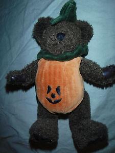 "The Boyd's Collection Pumpkin Bear 9"" Plush Soft Toy Stuffed Animal"
