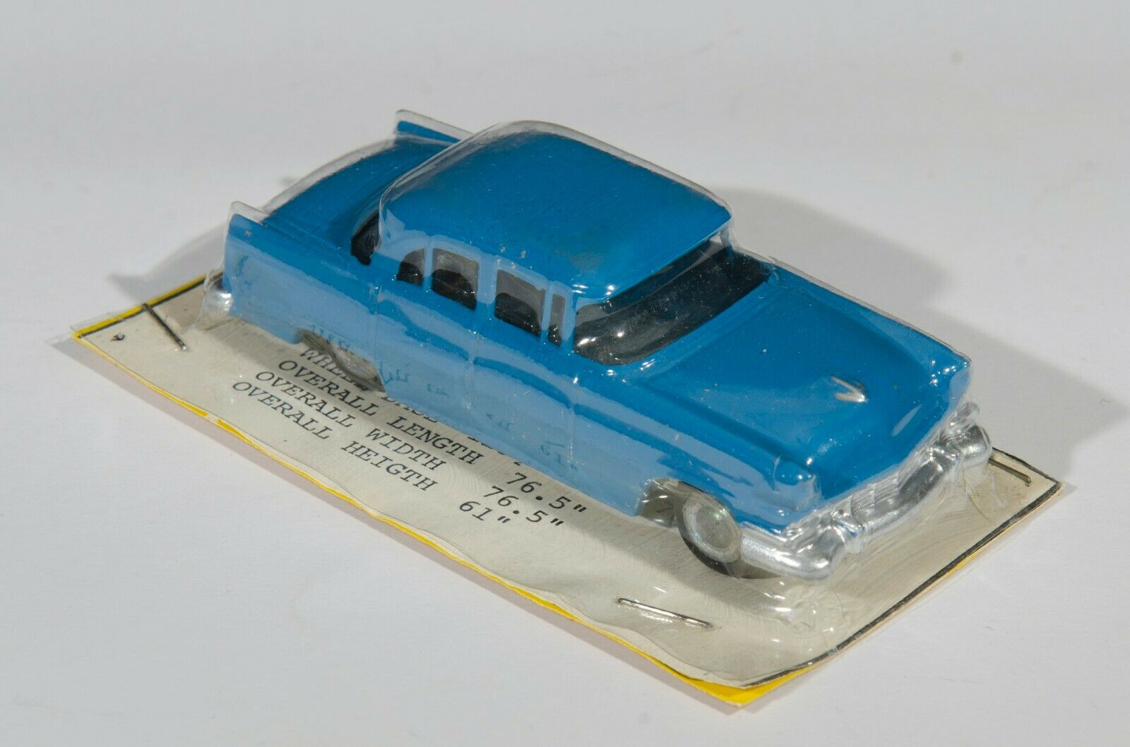 Micro Torro New Zealand International 1956 Ford Fairline. bluee. Carded. 1960's