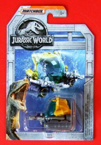 MATCHBOX JURASSIC WORLD  DEEP-DIVE SUBMARINE    NEU/&OVP