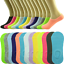 3-12-Pairs-Womens-Ankle-Boat-Liner-Invisible-No-Show-Low-Cut-Solid-Cotton-Socks thumbnail 13