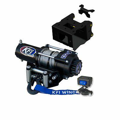 KFI A2000 2000lb Winch /& 101840 Winch Mount kit fits 2014-2020 Polaris Sportsman 570