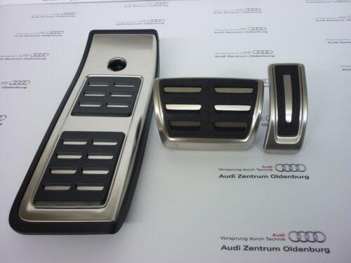 Audi Q5 FY Set aus Edelstahl für Automatik// S-tronic Original Audi Pedalkappen