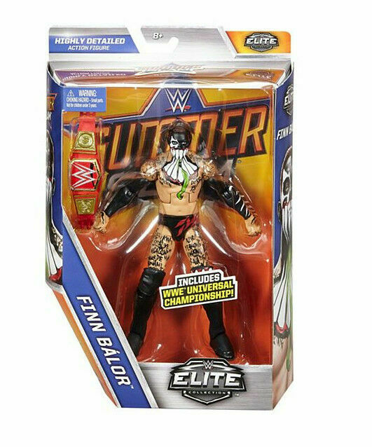 WWE Finn Balor Elite 46 wrestling figures new//boxed