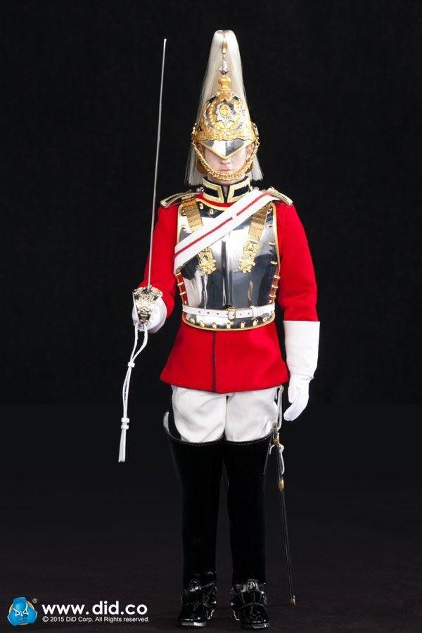 Dragon SCALA 1/6 DID DREAMS Britannica moderna Life Guards Borsanini Borsanino