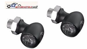 Satz-Kellermann-Bullet-Atto-Dark-Schwarz-Paar-2-Stueck-LED-Blinker-Mini-Blinker