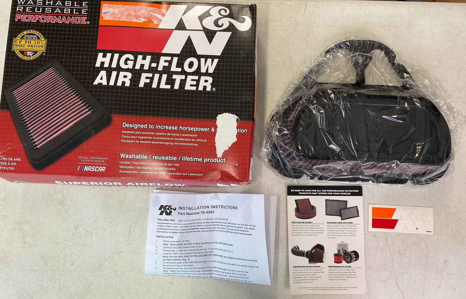 K /& N YA-6001 Replacement Air Filter
