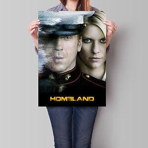 Homeland Poster TV Series Season 1 Claire Danes Damian ...