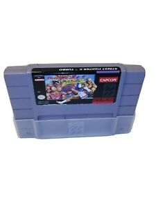 Street-Fighter-2-Turbo-SNES-w-039-dust-sleeve-Super-Nintendo-Game-Tested-amp-Working