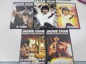 JACKIE-CHAN-APRENDIZ-DE-ARTES-MARCIALES-CAJA-LOTE-4-X-DVD-ESPANOL-REGION-2-Am