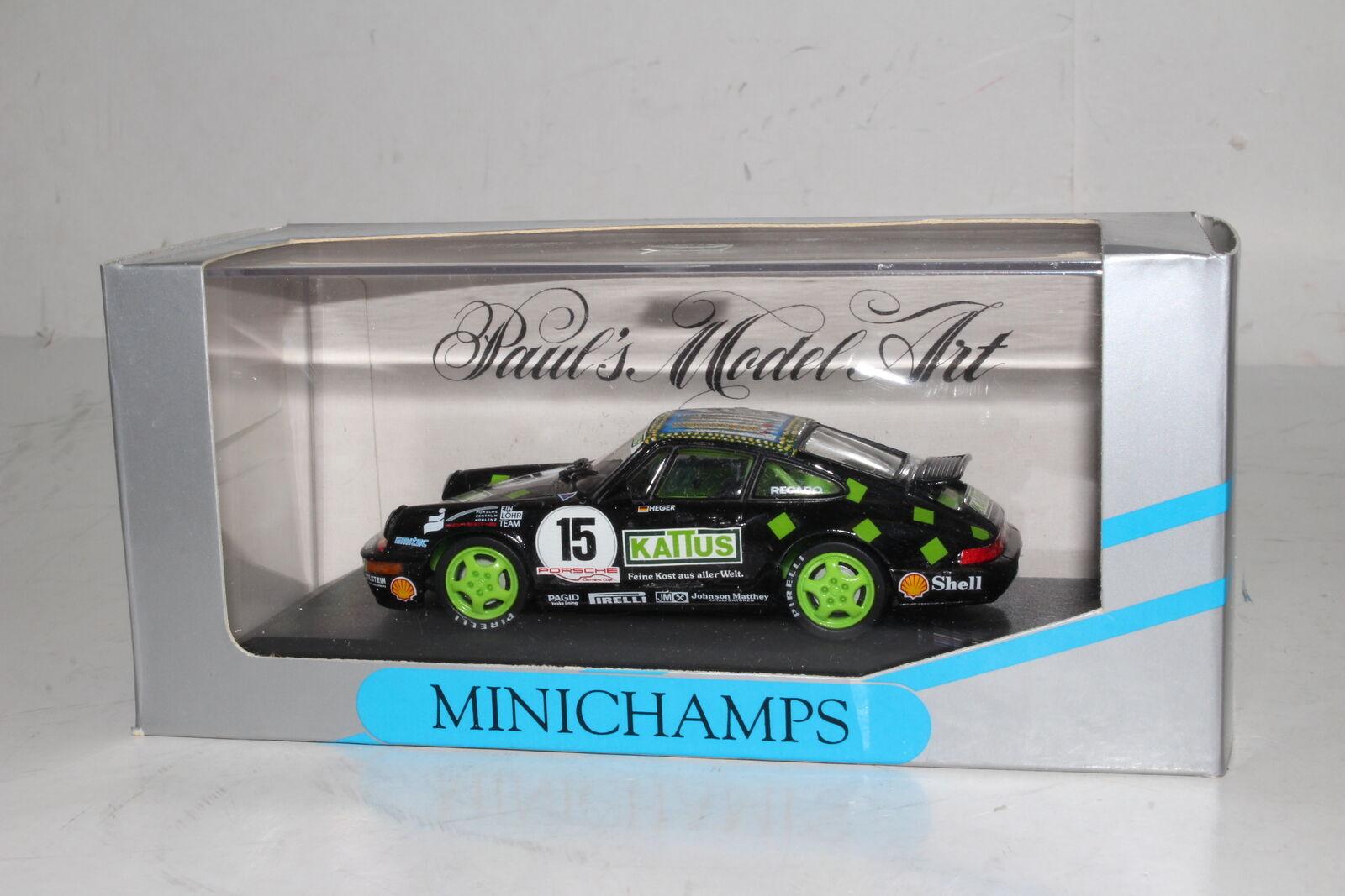 MINICHAMPS DIECAST PORSCHE 911 911 911 CARRERA, CUP - SIEGER 1993, A. HEGER 1 43 4df987