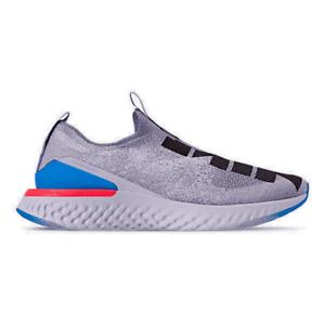 Men-039-s-Nike-Epic-Phantom-React-Flyknit-Disrupt-Running-Shoes-Indigo-Fog-Black-Gho