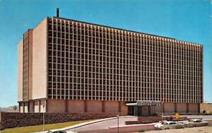 El Paso Tx Texas Sun Towers Hospital 50s Cars Chrome Postcard Ebay