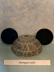 Disney-Parks-Adult-Star-Wars-Rogue-One-Death-Star-Mickey-Ears-Hat-NEW