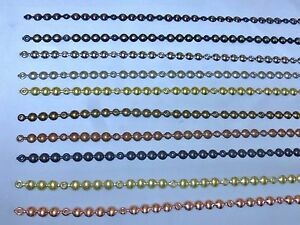 Image Is Loading 5m Decorative Upholstery Nail Tacks Stud Strips 10
