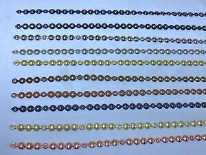 5 Metres Of Decorative Upholstery Nail Tacks Stud Strips 10