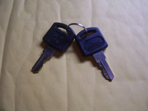 Armstrong Computer Cabinet Key 001       LOT of 2