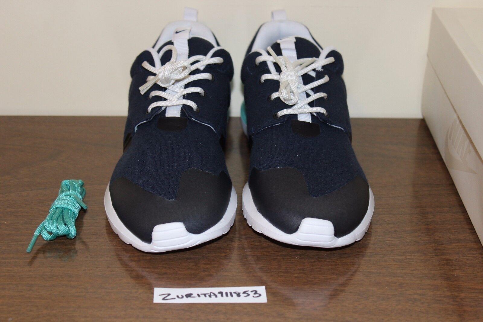 Nike W Roshe casi como nuevo W Nike SP Air Obsidiana blanqueado Run Turquesa 652804-403 Tech Fleece 82400c