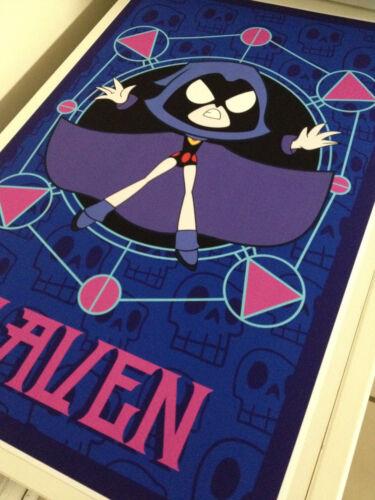 Teen Titans GO Raven poster print