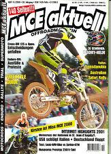 MCE aktuell 11/2000 OFFROADMAGAZIN, MXDN, A.Bartolini, Husky 250, KTM 400 EXC